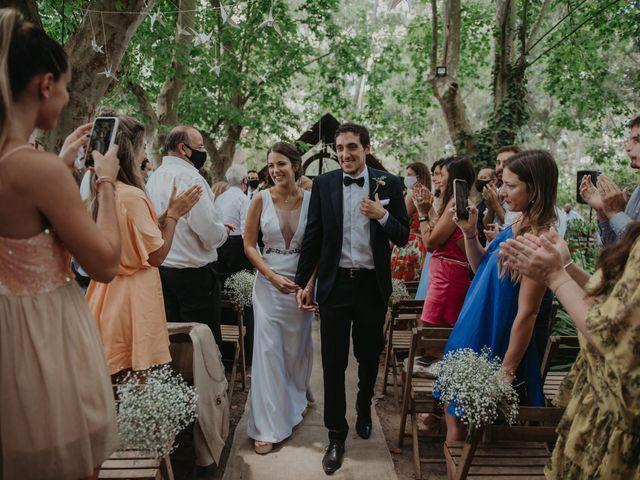 El casamiento de Julian y Stefania en Exaltacion de La Cruz, Buenos Aires 75