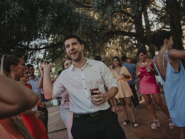 El casamiento de Julian y Stefania en Exaltacion de La Cruz, Buenos Aires 107