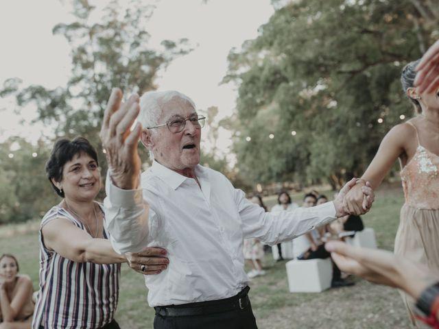 El casamiento de Julian y Stefania en Exaltacion de La Cruz, Buenos Aires 109