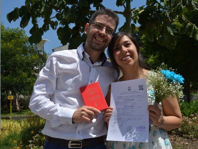 El casamiento de Aratzi y Aramis