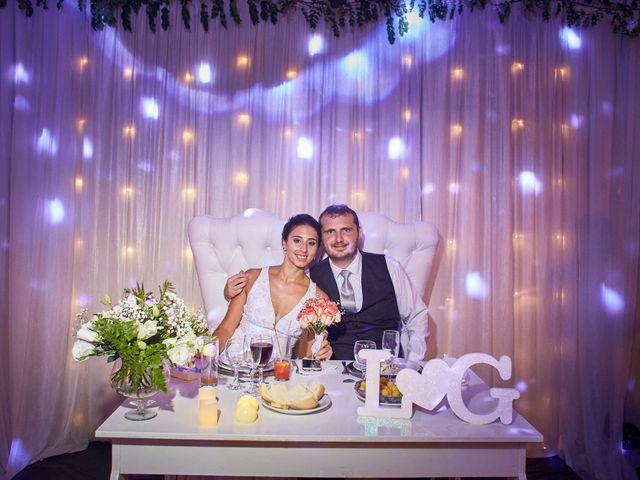El casamiento de Liza y Gaston