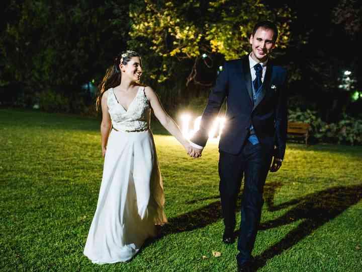 El casamiento de Denu y Pablo