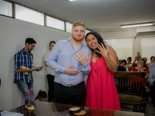 El casamiento de Gabby y Agus