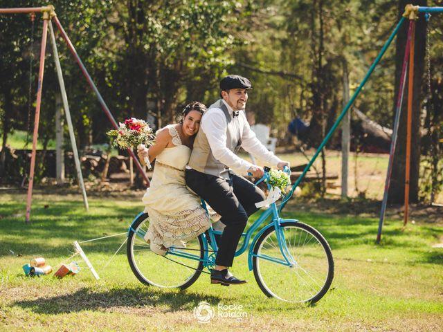 El casamiento de Agustina y Alejandro