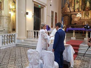 El casamiento de Camila  y Martin