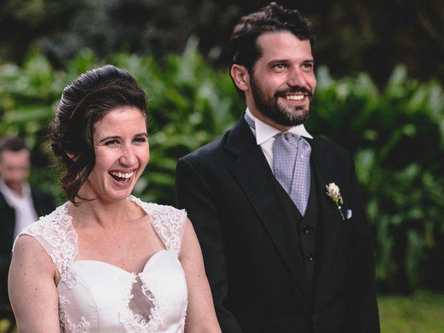 El casamiento de Mechi y Bruno