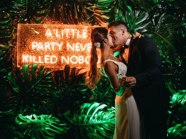 El casamiento de Nati y Mario