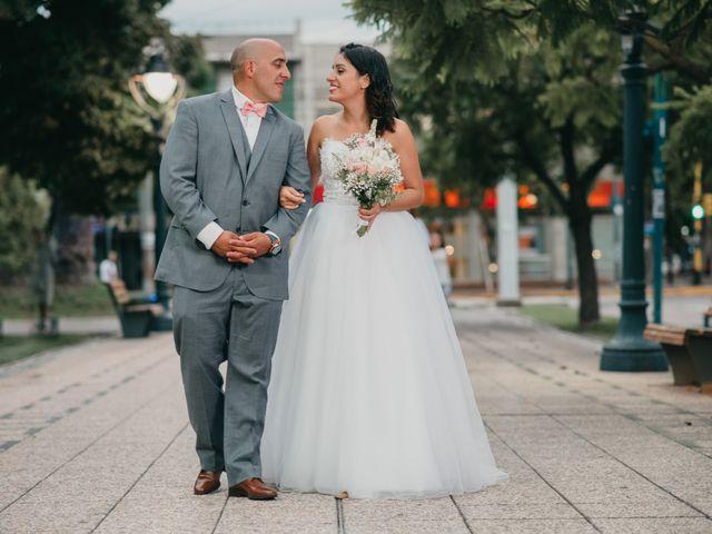 El casamiento de Bren y Fede