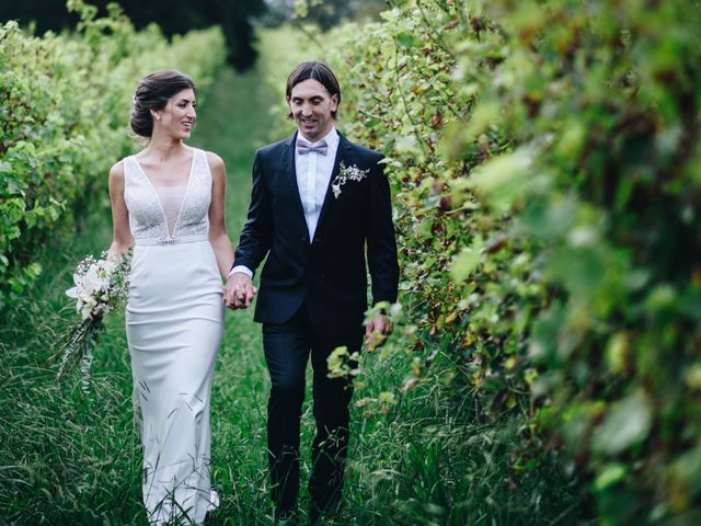 El casamiento de María y Demian
