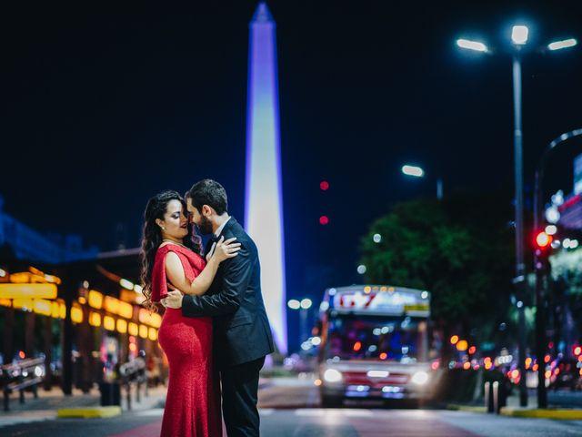 El casamiento de Fer y Giuli en Belgrano, Capital Federal 5