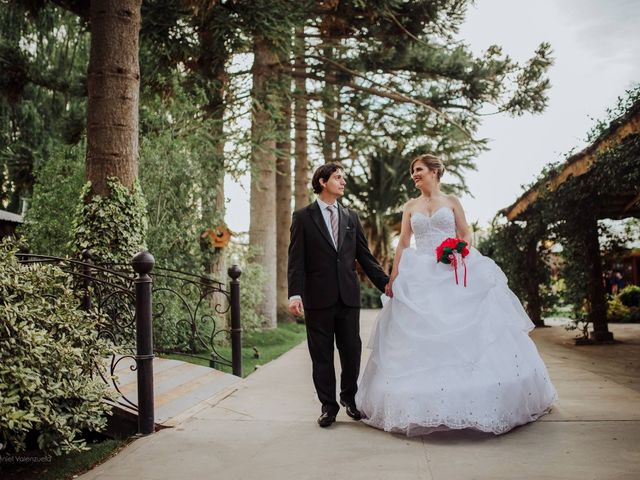 El casamiento de Daniela y Martín
