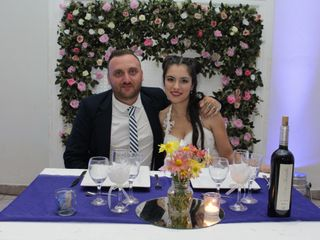 El casamiento de Gisella y Dario
