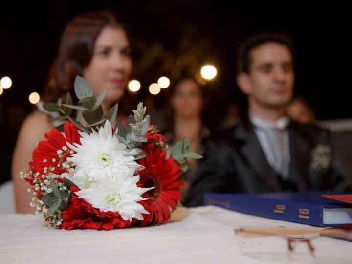 El casamiento de Carolina y Juan