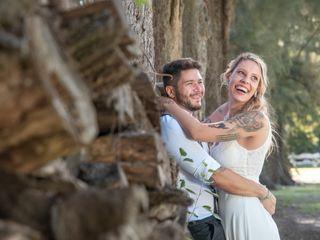 El casamiento de Flor y Fran