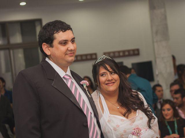 El casamiento de Sabrina y Agustin