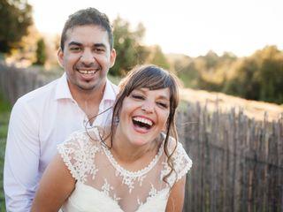 El casamiento de Anahí y Grabriel