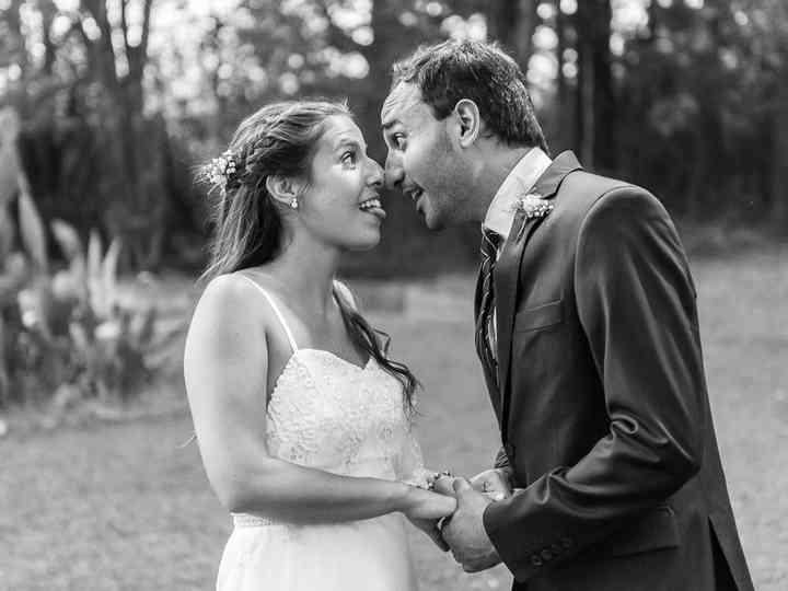El casamiento de Virginia y Abo