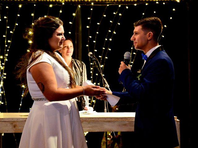 El casamiento de Evelin y Pedro