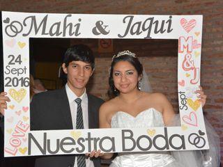El casamiento de Jaqueline y Mahatma