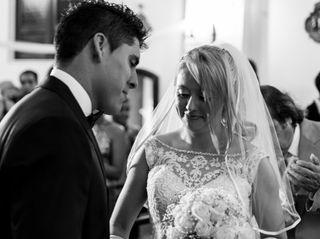 El casamiento de Lucrecia y Gastón