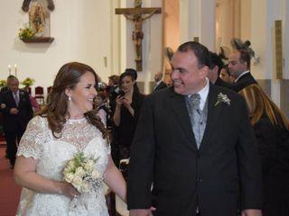 El casamiento de Daniela y Javier