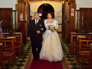 El casamiento de Santiago  y Andrea  1