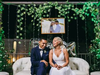 El casamiento de Barby y Marce