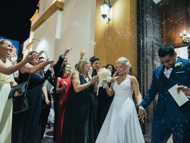 El casamiento de Marce y Barby en San José de Guaymallen, Mendoza 1