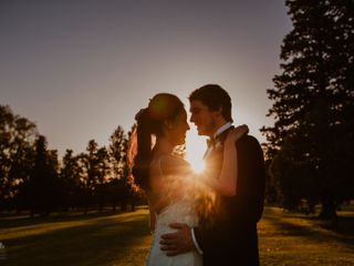 El casamiento de Delfina y Facundo