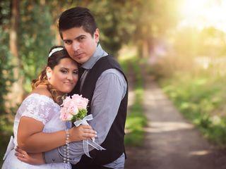 El casamiento de Daniela y David