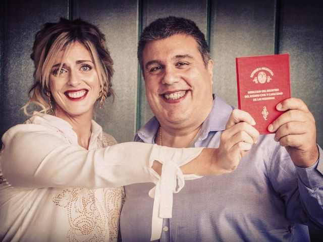 El casamiento de Ale y Flor en Puerto Madero, Capital Federal 1