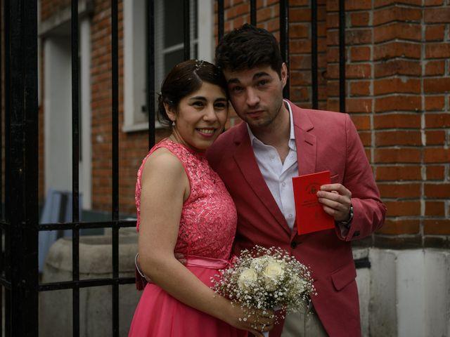 El casamiento de Nicolás y Sabrina