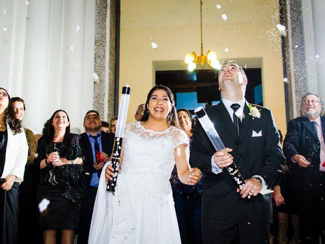 El casamiento de Romina y Román