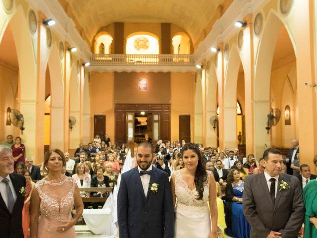 El casamiento de Lucas y Julieta en Jesús Nazareno, Mendoza 16