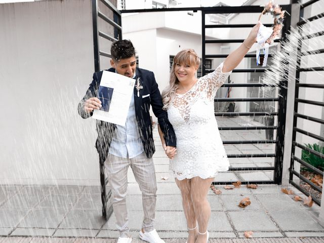 El casamiento de Cecilia y Alejandro en San Telmo, Capital Federal 7