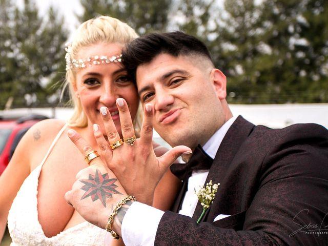 El casamiento de Laura Coria y Piero Pinna