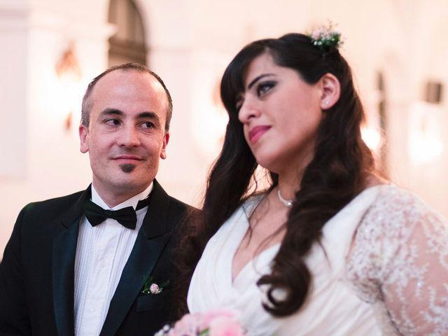 El casamiento de Cecilia y Diego