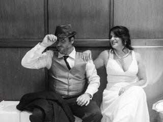 El casamiento de Florencia y Mariano
