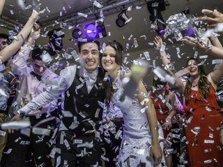El casamiento de Xiomara y Leandro