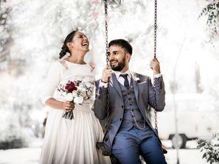 El casamiento de Maga y Emi