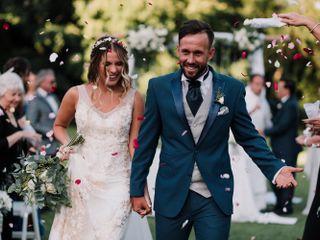 El casamiento de Flor y Gastón