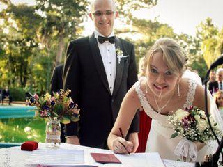El casamiento de Yisel y Roni