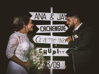 El casamiento de Anabella y Javier