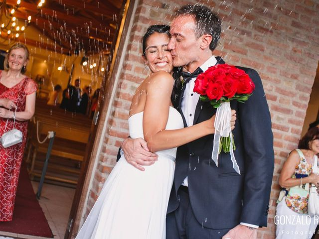 El casamiento de Guillermina y Federico