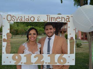 El casamiento de Osvaldo y Jimena