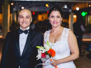 El casamiento de Virginia y Gustavo