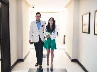 El casamiento de Melina y Gaston