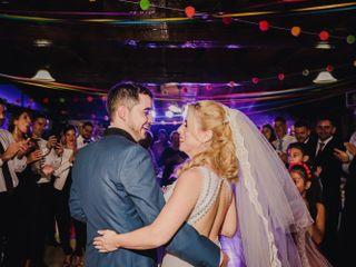El casamiento de Shashique y Lucio