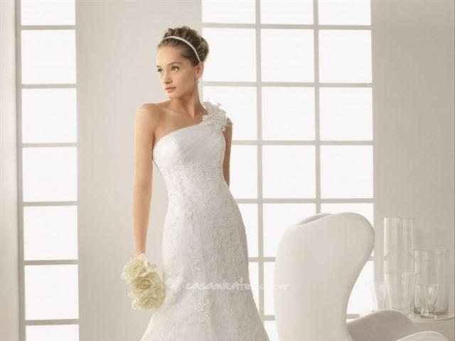 Colección de vestidos de novia Rosa Clará 2013
