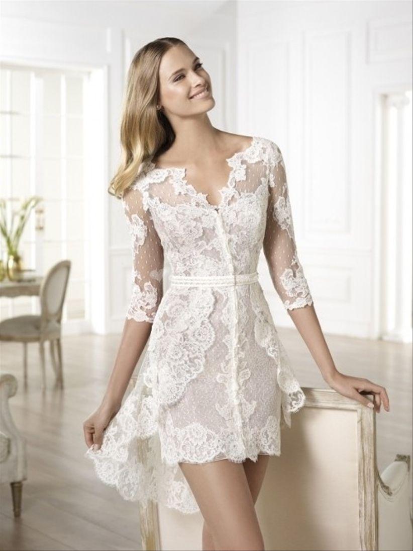 Vestidos sencillos color blanco